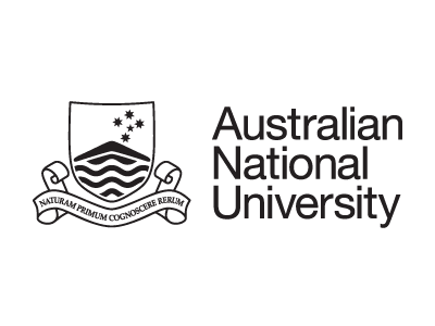 Australian National University logo and website link