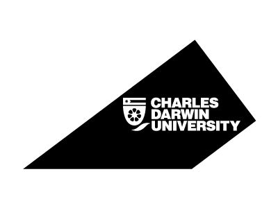 Charles Darwin University logo and website link