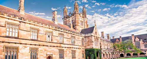 Quadrant Building at University of Sydney, Australia.