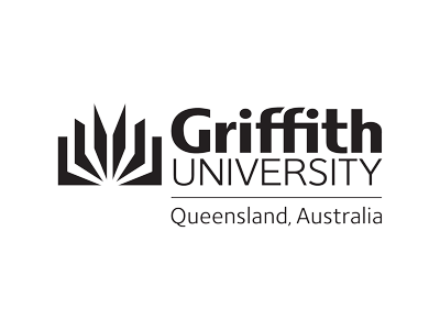 Griffith University logo and website link