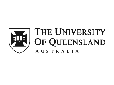 The University of Queensland logo and website link