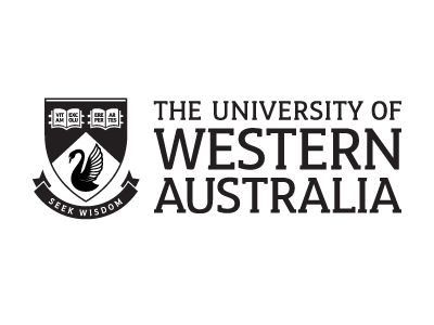 The University of Western Australia logo and website link