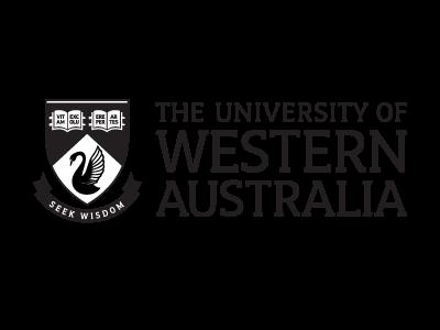 The University of Western Australia logo and website link