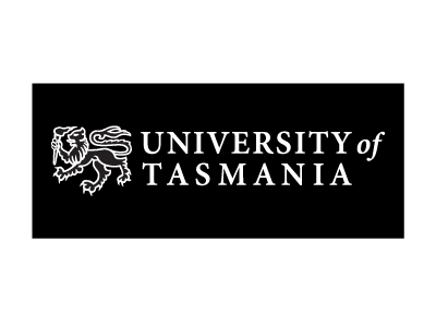 University of Tasmania logo and website link